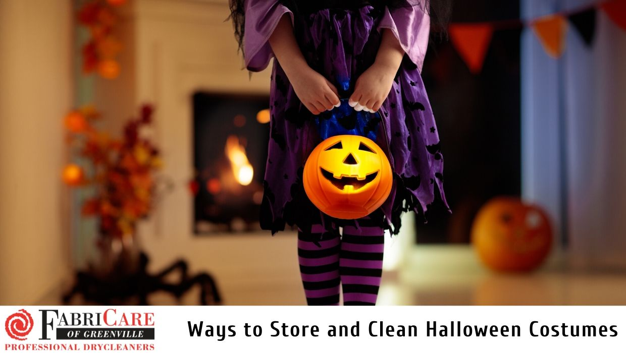 Storing and Cleaning Halloween Costumes