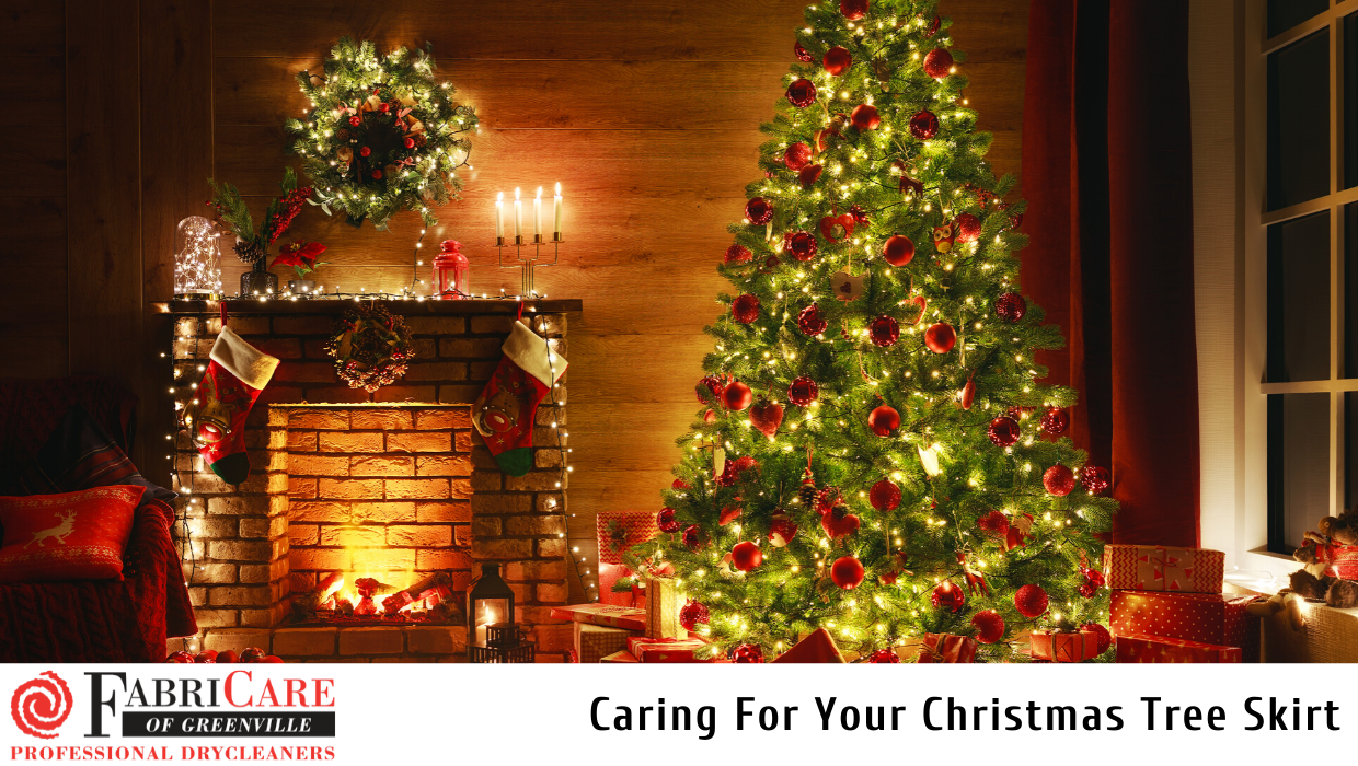 Caring For Your Christmas Tree Skirt