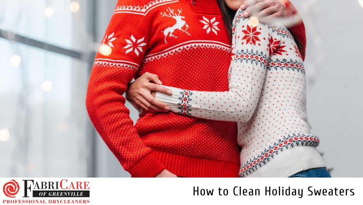 How to Clean Holiday Sweaters