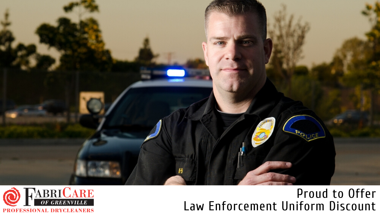 Law Enforcement Dry Cleaning Discount
