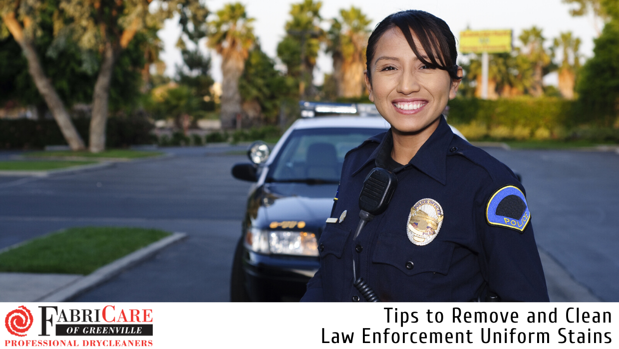 Tips to Remove and Clean Law Enforcement Uniform Stains