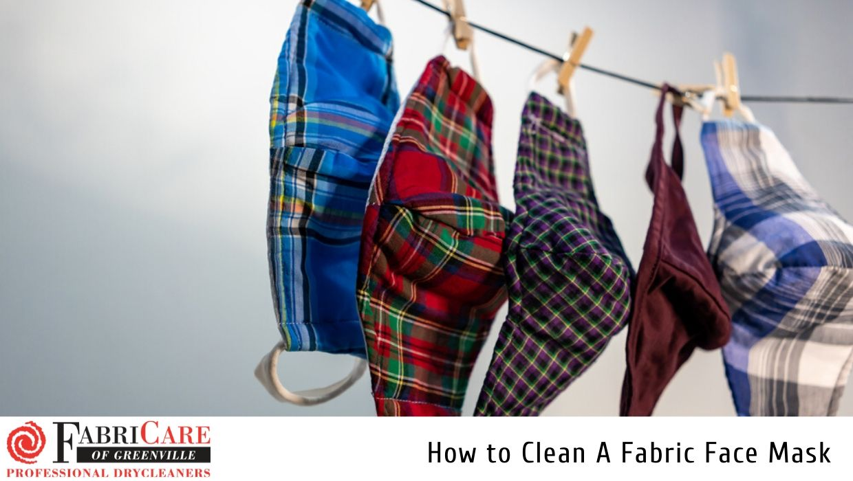 How to Clean A Fabric Face Mask