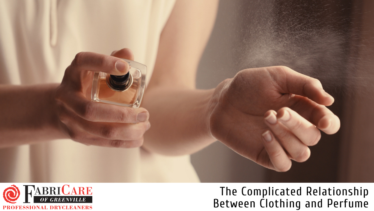 The Complicated Relationship Between Clothing and Perfume