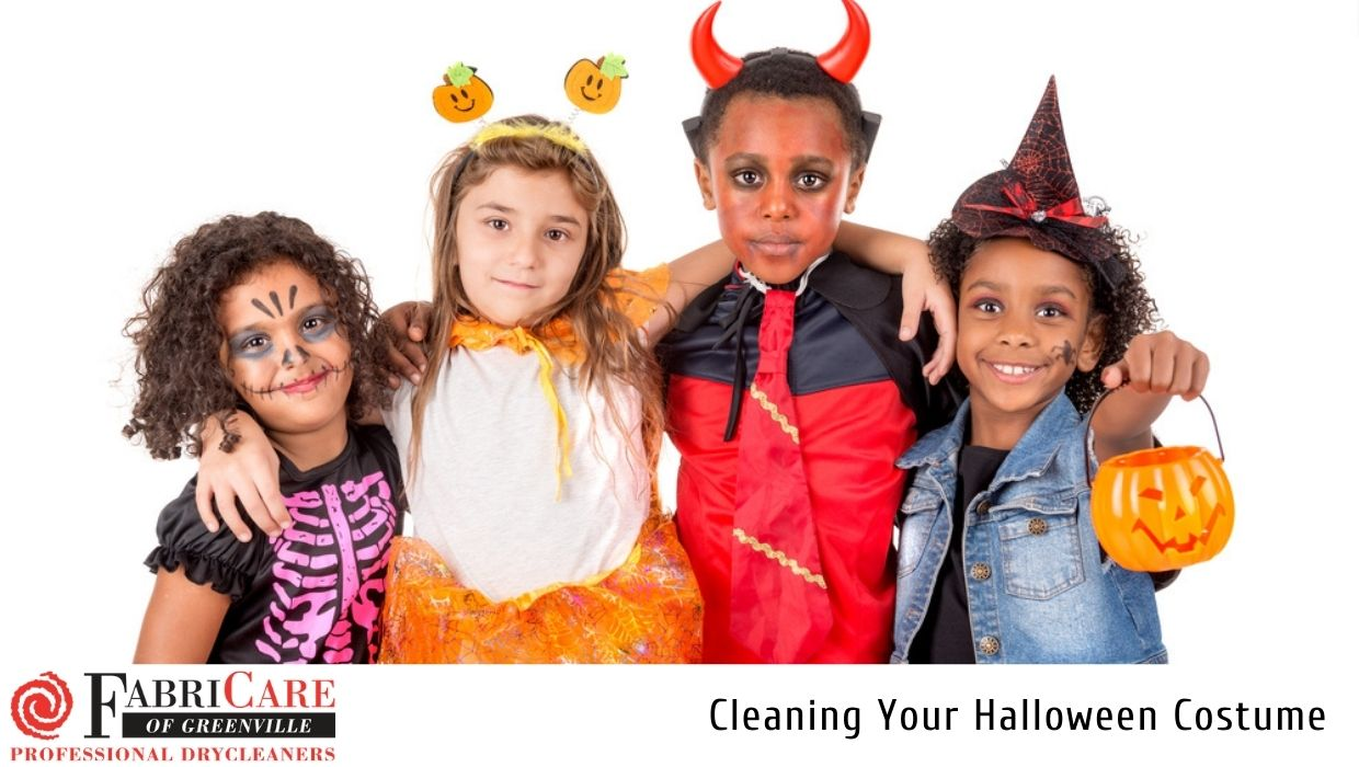 Cleaning Your Halloween Costume