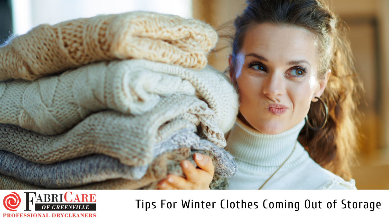 Winter Clothes Coming Out of Storage