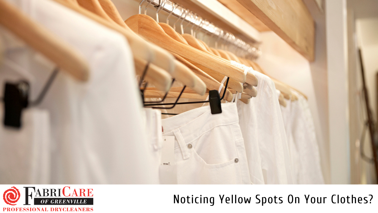 Noticing Yellow Spots On Your Clothes?